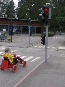 Children's traffic parks through Kaizen eyes